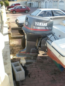 Rascala fm 17 for 115 hp yamaha outboard motors for sale